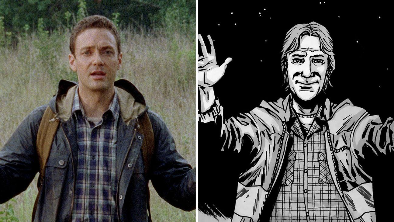 Aaron The Walking Dead Split - H 2015