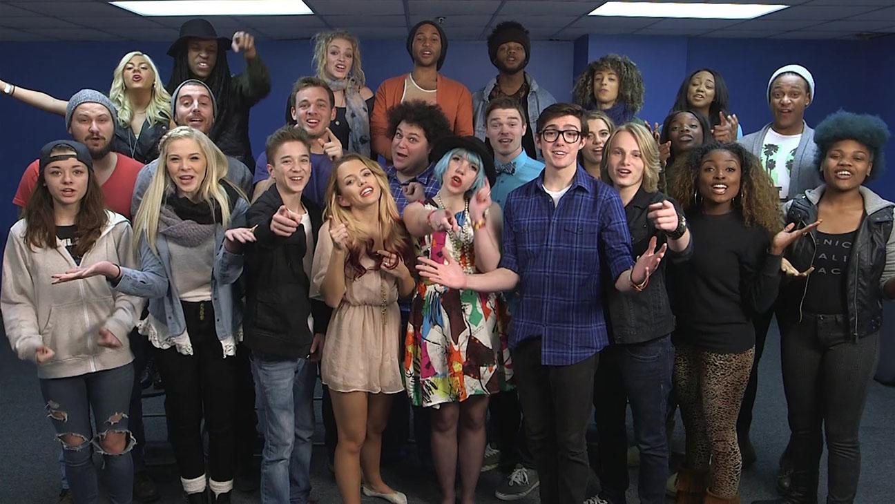 American Idol Top 24 group photo - H 2015