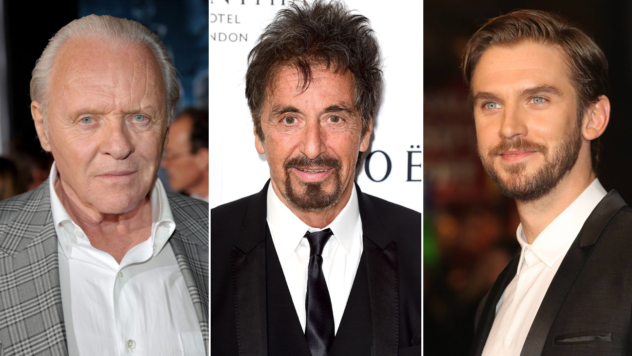 Anthony Hopkins Al Pacino Dan Stevens - H 2015