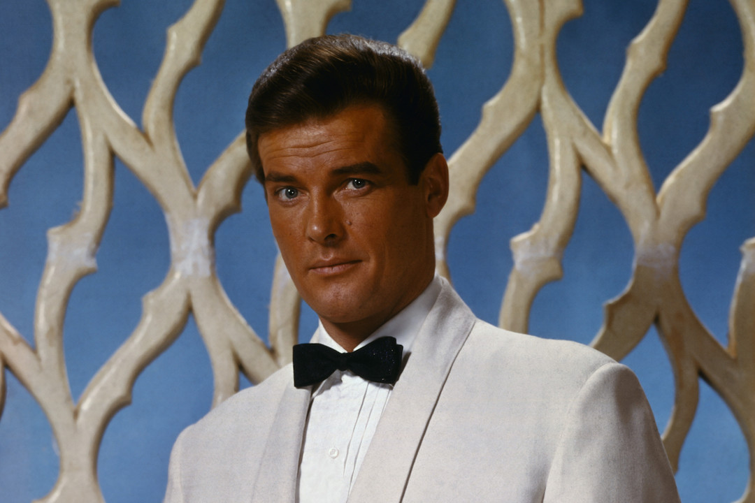 Roger Moore 'The Saint' H 2015