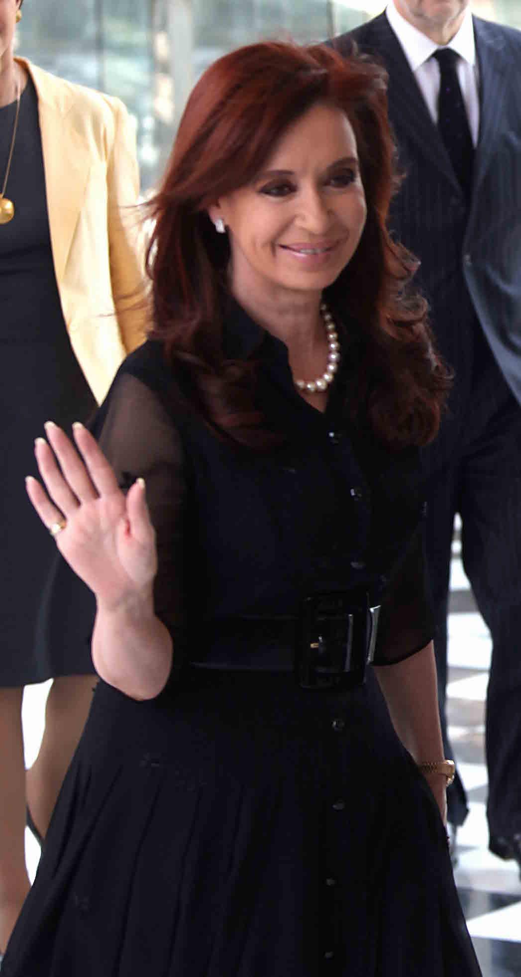Cristina Fernandez de Kirchner P 2015