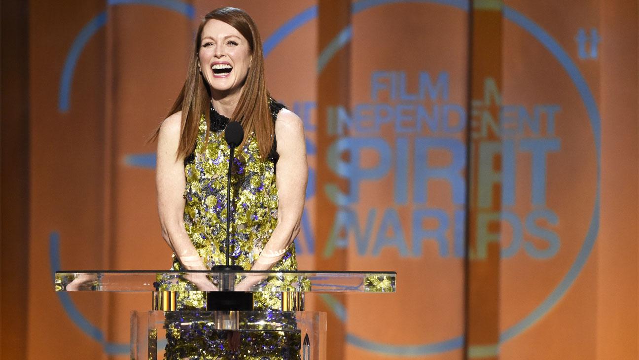 Julianne Moore Indie Spirit Awards Win - H 2015