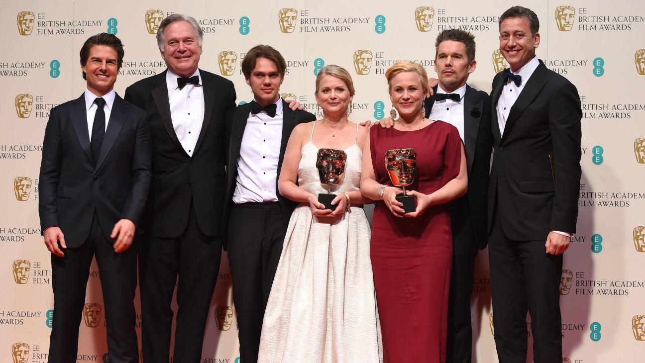 'Boyhood' BAFTA - H 2015