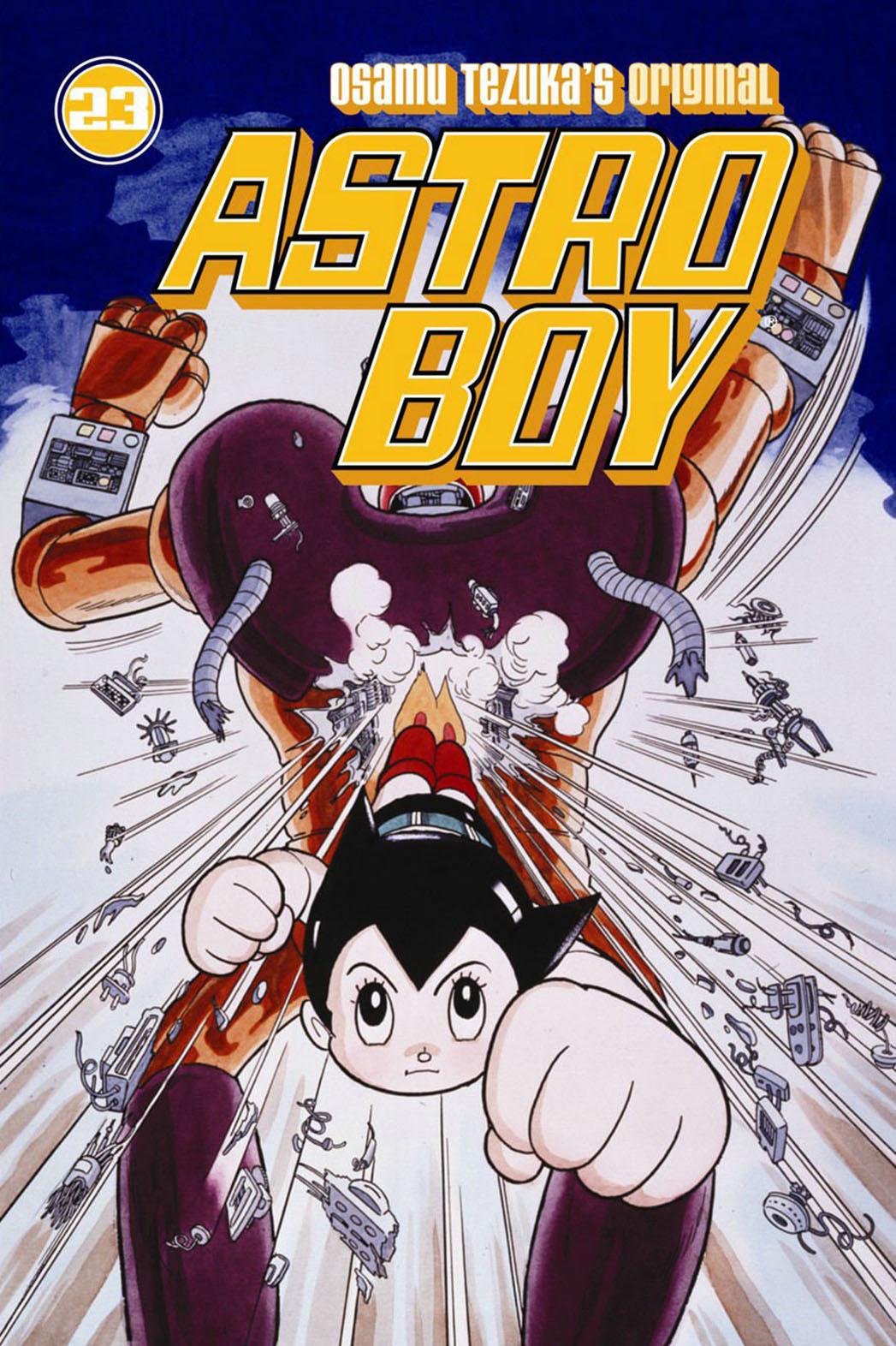 Astro Boy 23 Cover - P 2015