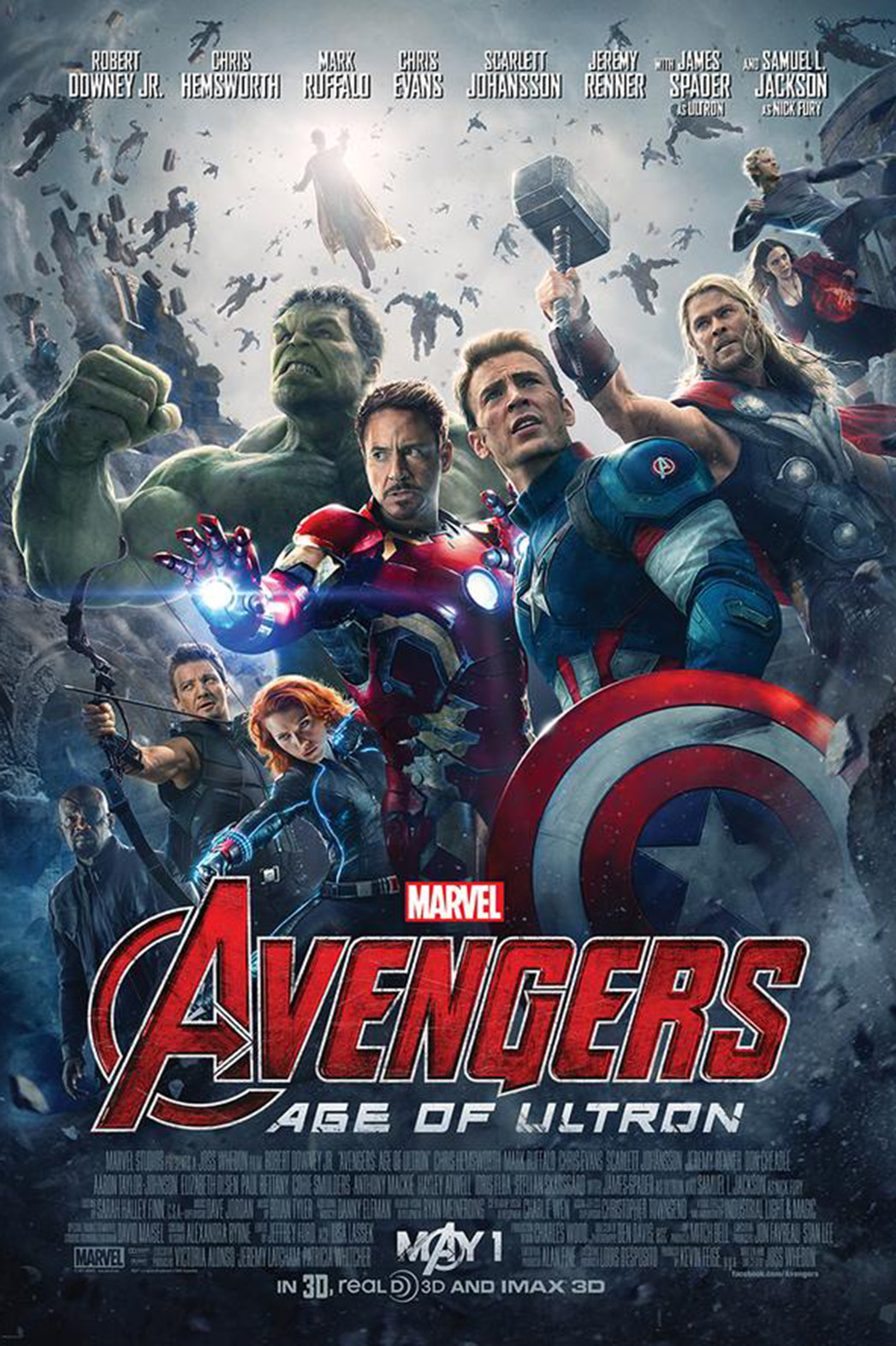 Avengers Age of Ultron - P 2015