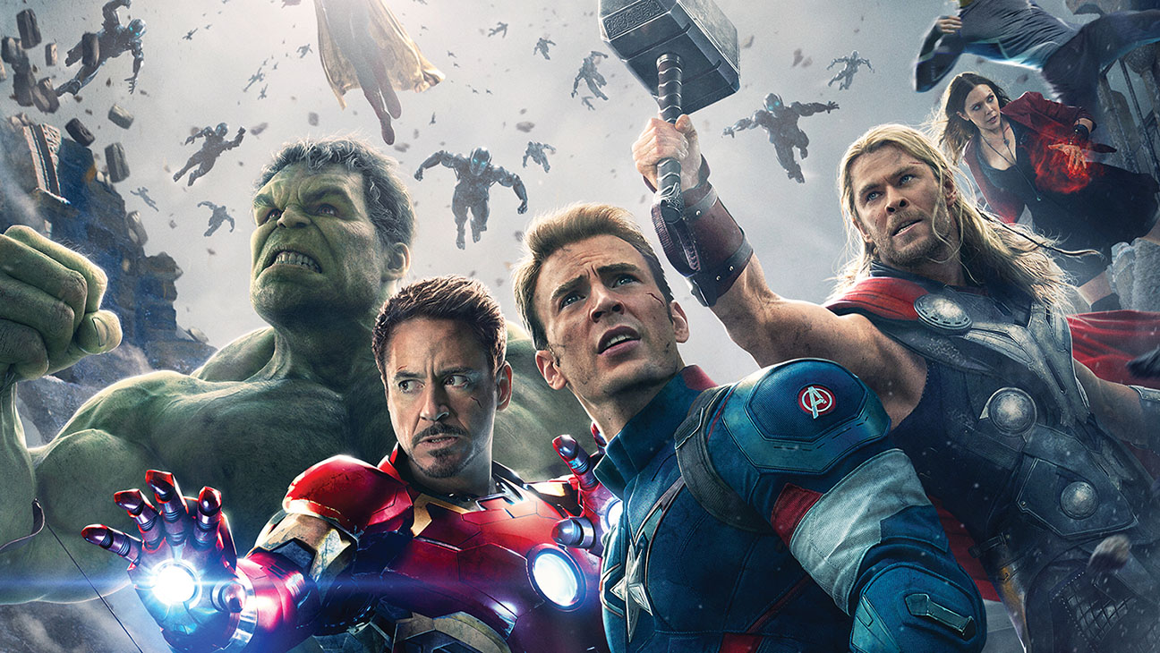 Avengers Age of Ultron Poster Detail - H 2015