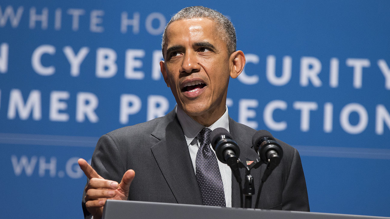 Barack Obama Cybersecurity Summit - H 2015
