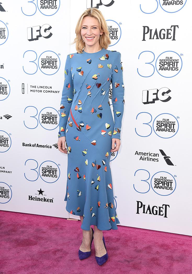 Cate Blanchett Spirit Awards -- P 2015