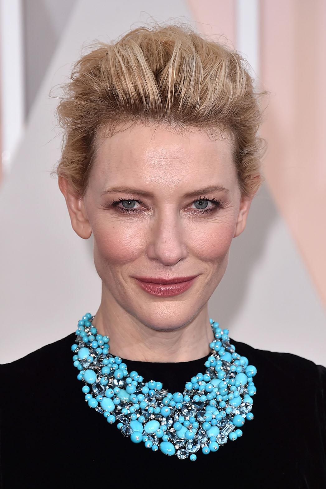 Cate Blanchett Makeup - P 2015