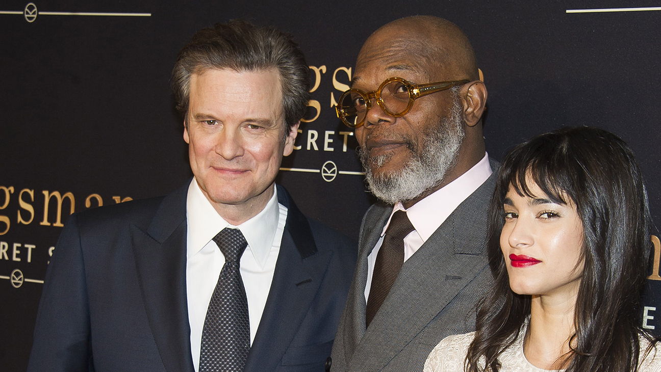 Colin Firth Samuel L Jackson Sofia Boutella Kingsman H 2015