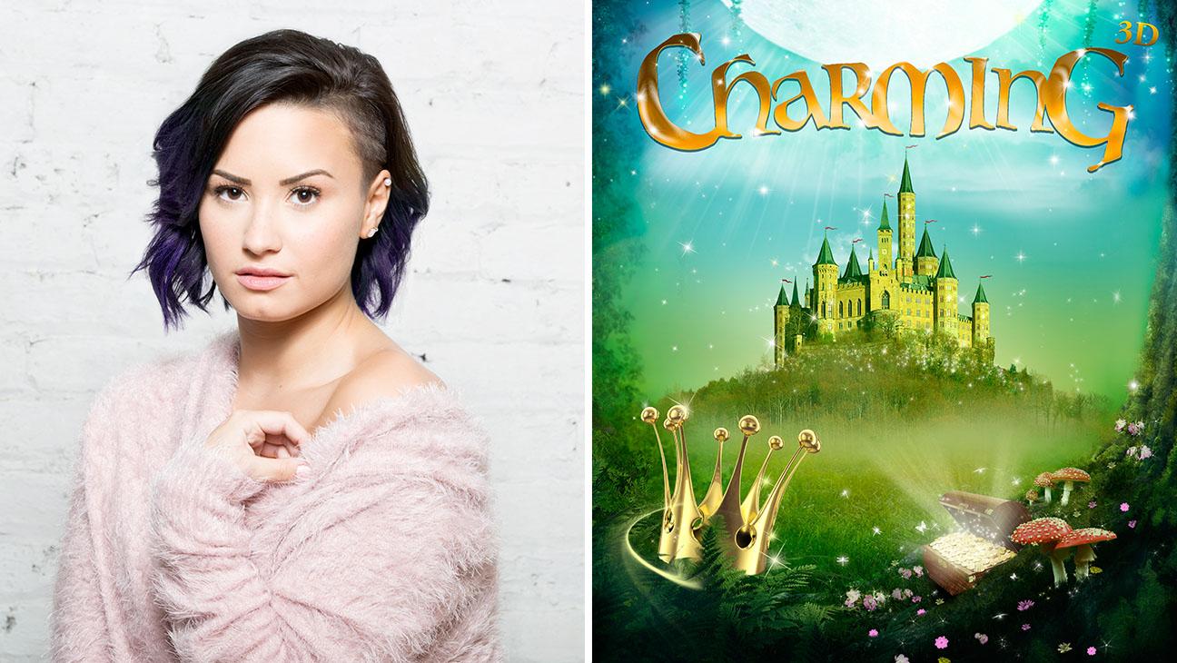 Demi Lovato Charming Split - H 2015