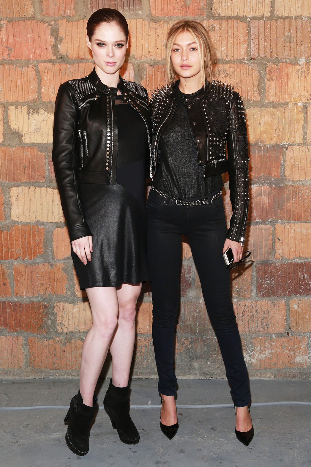 Gigi Hadid and Coco Rocha NYFW - P 2015