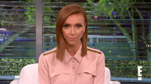 Giuliana Rancic Zendaya Apology -- H