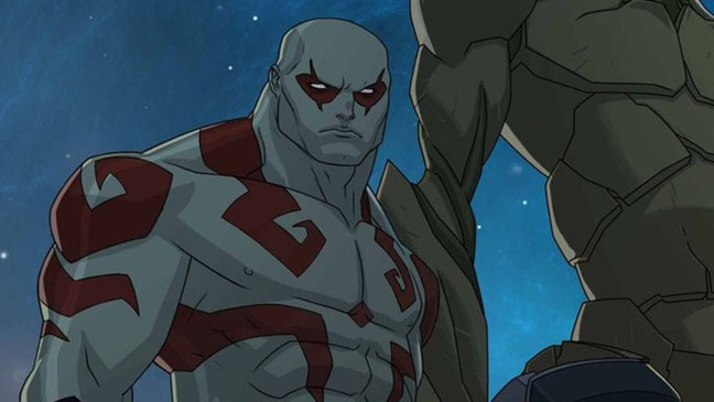 Guardians of the Galaxy Animated Drax Still - H 2015