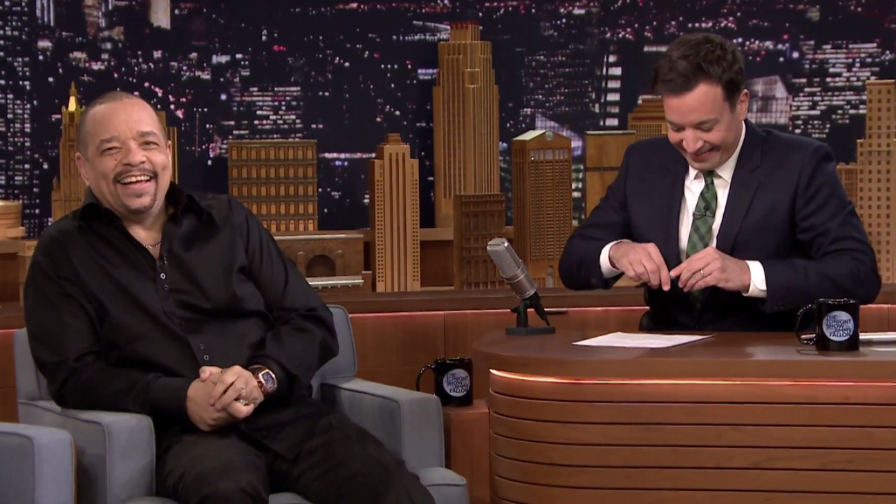 Ice-T on Jimmy Fallon - H 2015