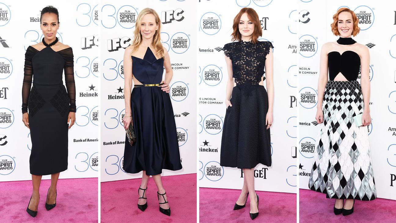 Indie Spirit Awards Architectural Dresses Split - H 2015