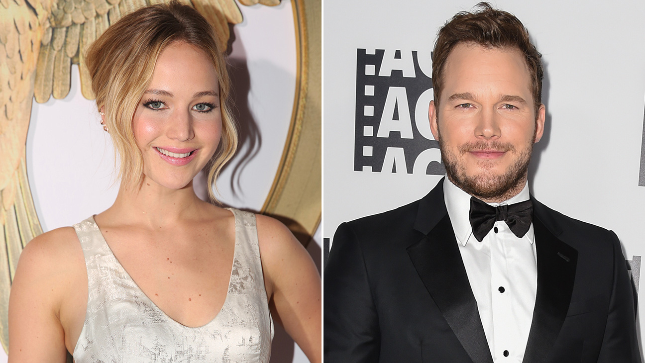 Jennifer Lawrence Chris Pratt - H 2015