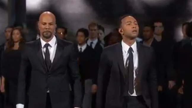Oscars 2015: Watch John Legend and Common Perform 'Glory' (Video)