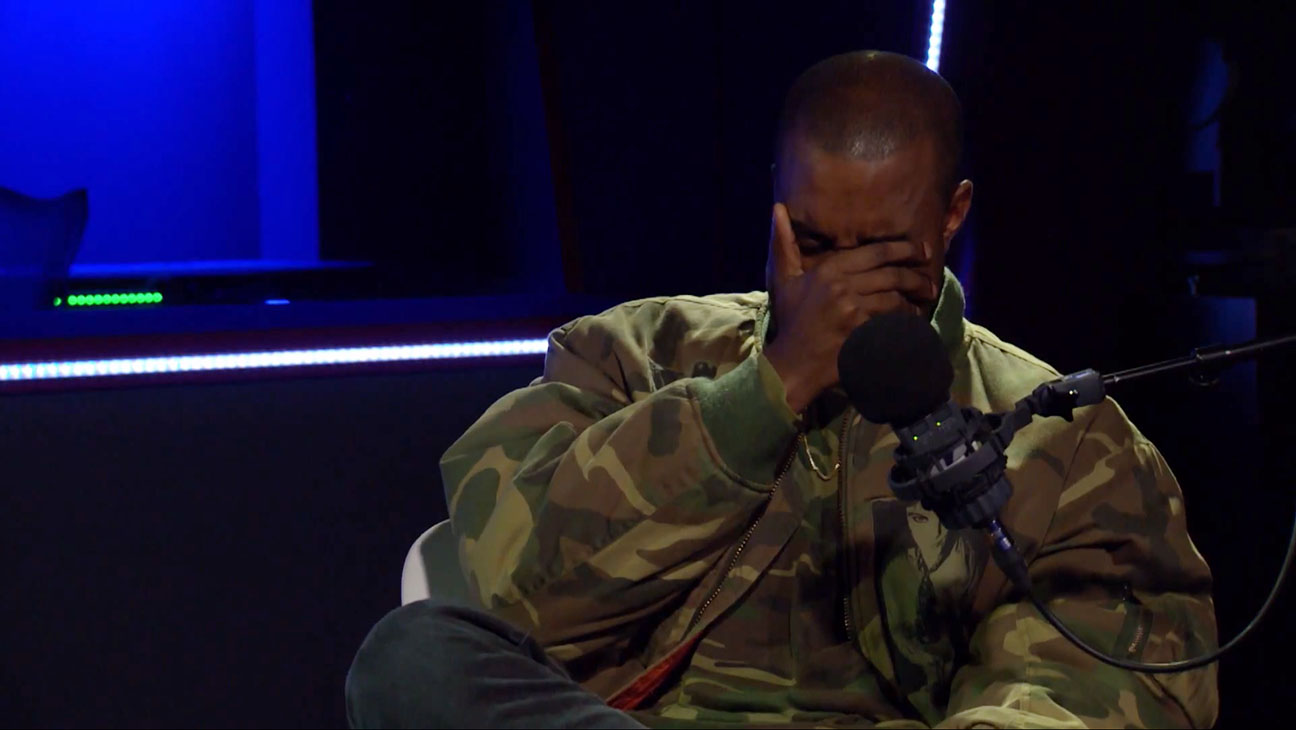 Kanye Crying Interview - H 2015