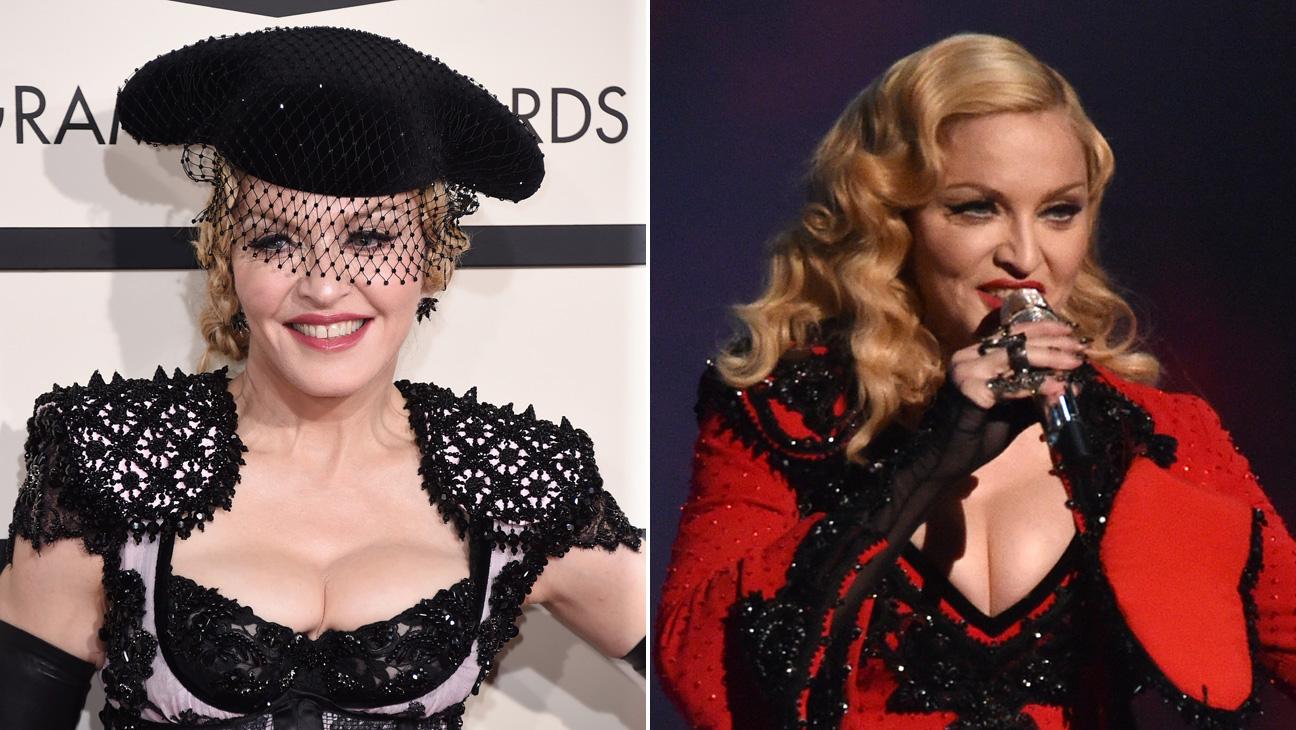 Madonna Grammys Hair - H 2015