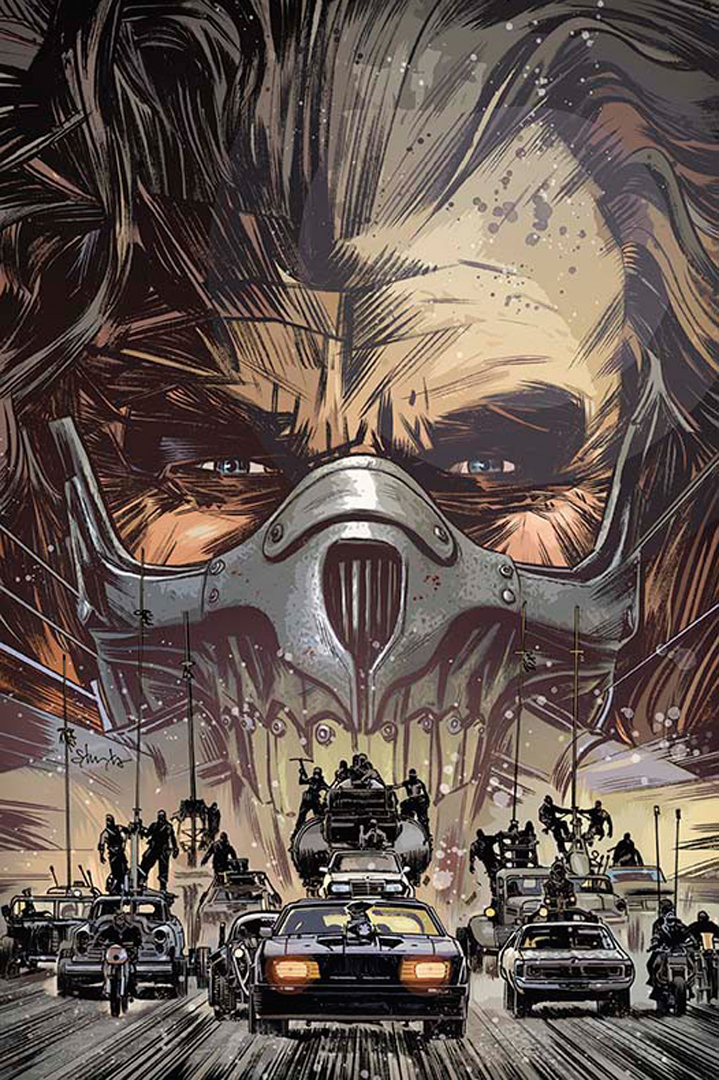 Mad Max Fury Road Comic - P 2015