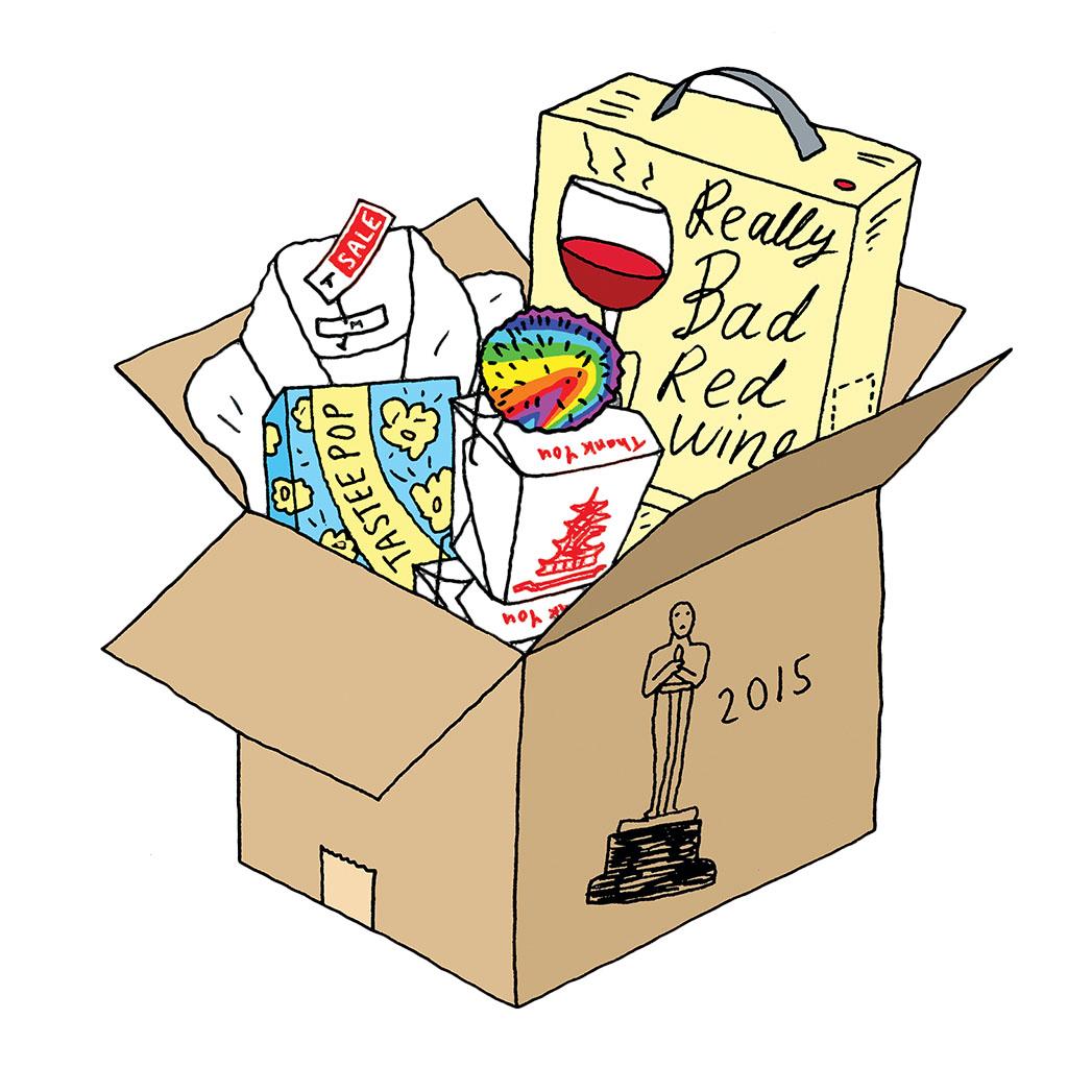 Oscar supplies box Illo - P 2015