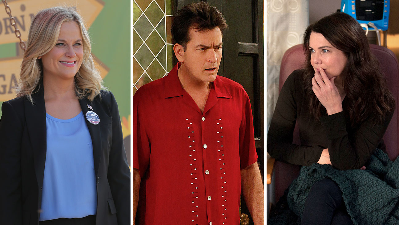 Parks and Recreation Two and a Half Men Parenthood Split - H 2015
