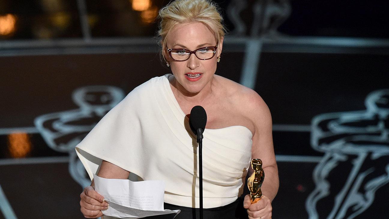 Patricia Arquette Oscars - H 2015