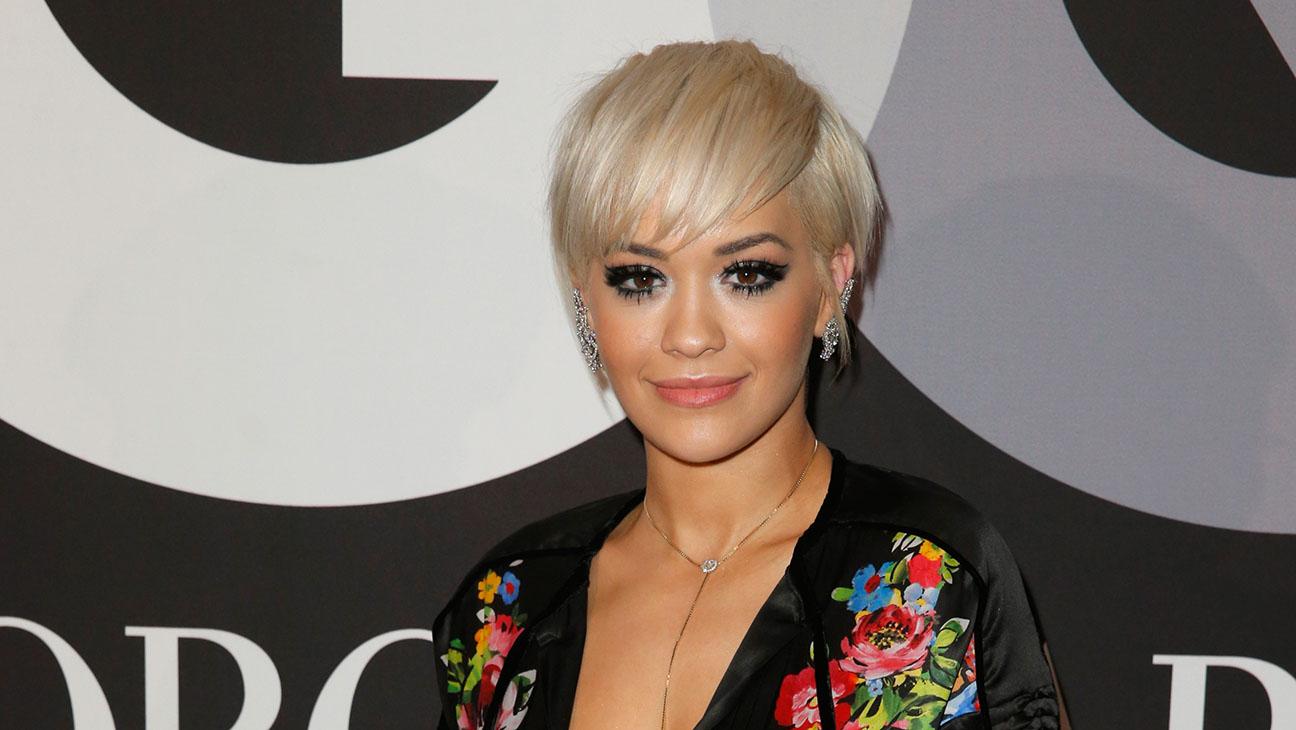 Rita Ora GQ Armani Grammy Afterparty DO NOT BLAST - H 2015