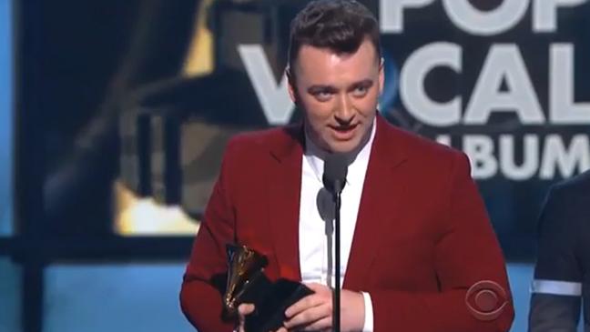 Sam Smith Pop Vocal Grammys