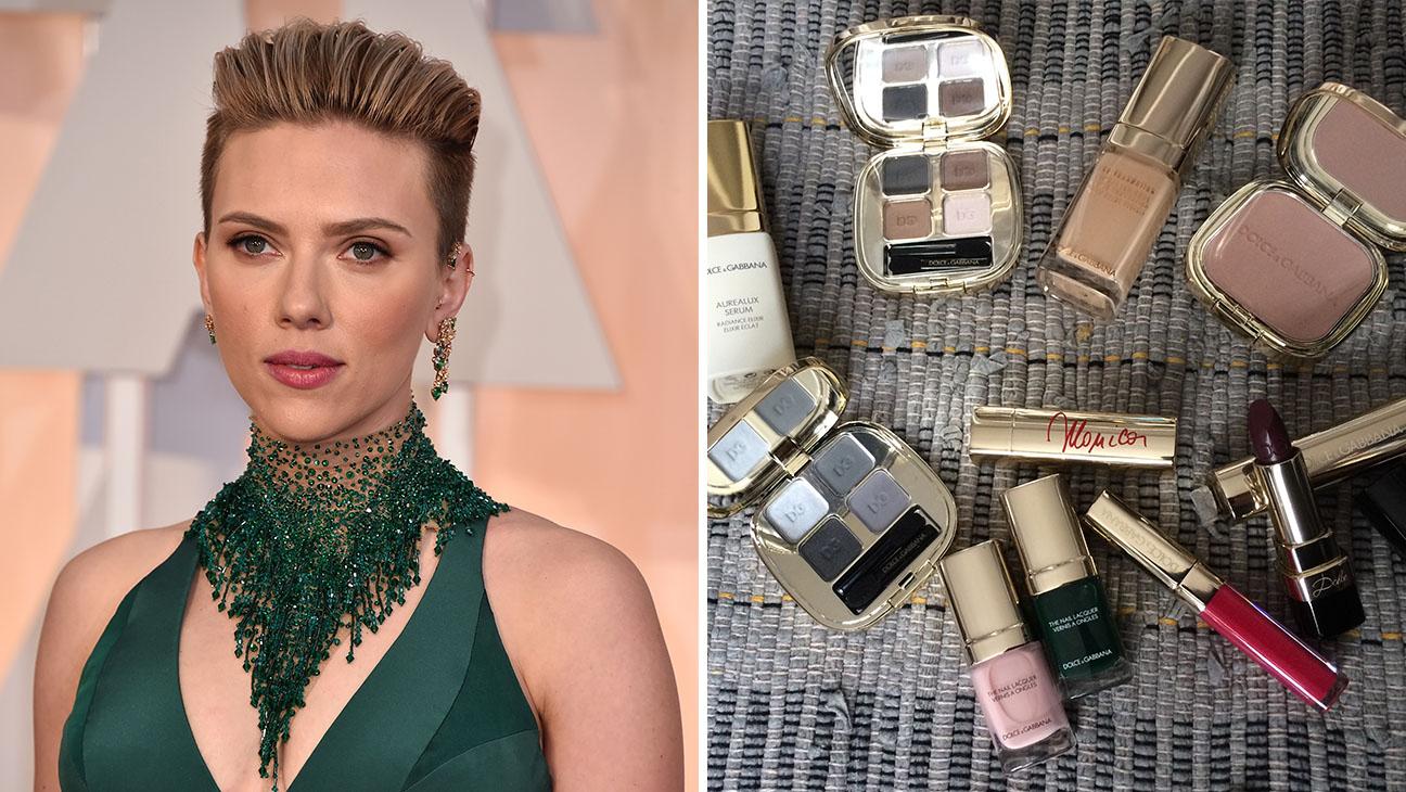 Scarlett Johansson Makeup Monday Split - H 2015