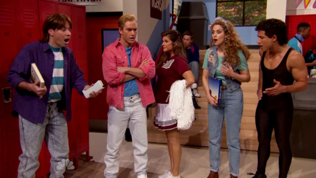 Tonight Show Saved by the Bell - H 2015