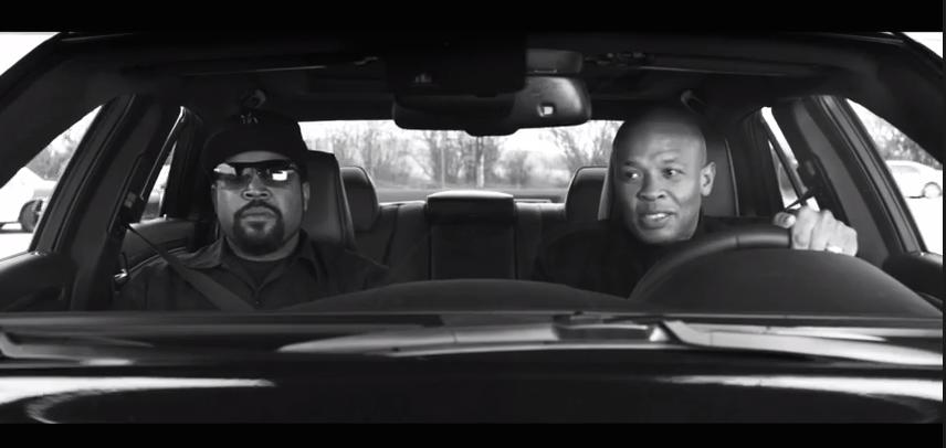 Dr. Dre Ice Cube Straight Outta Compton Still H 2015