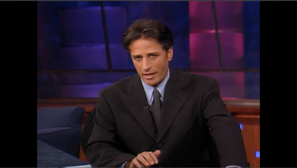 Jon Stewart on his first 'Daily Show' - H 2015