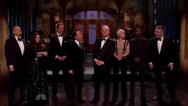 SNL Anniversary Monologue Still - H 2015