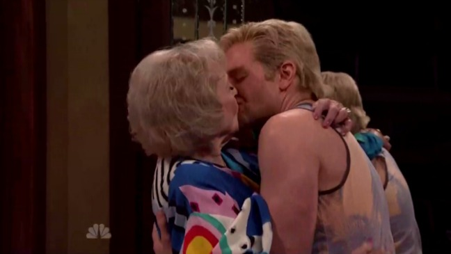 Bradley Cooper Betty White SNL Special - H 2015