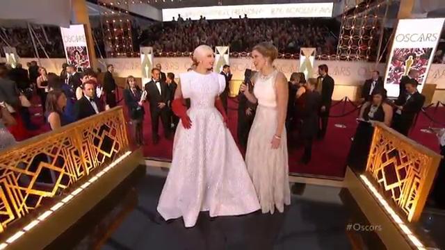 Lady Gaga, Oscars, 2015 Academy Awards