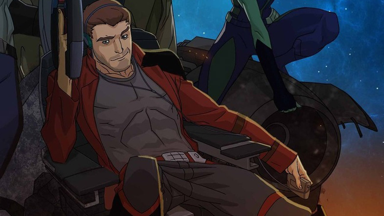 Guardians of the Galaxy Star-Lord Animated - H 2015
