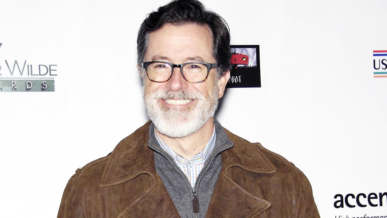 Stephen Colbert with Beard - H 2015