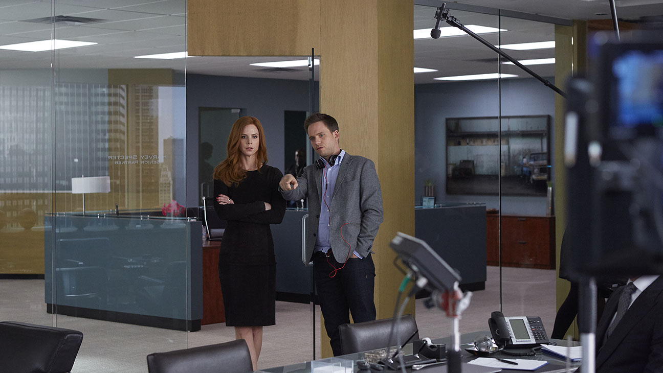 Suits S04E14 Patrick Adams Still - H 2015