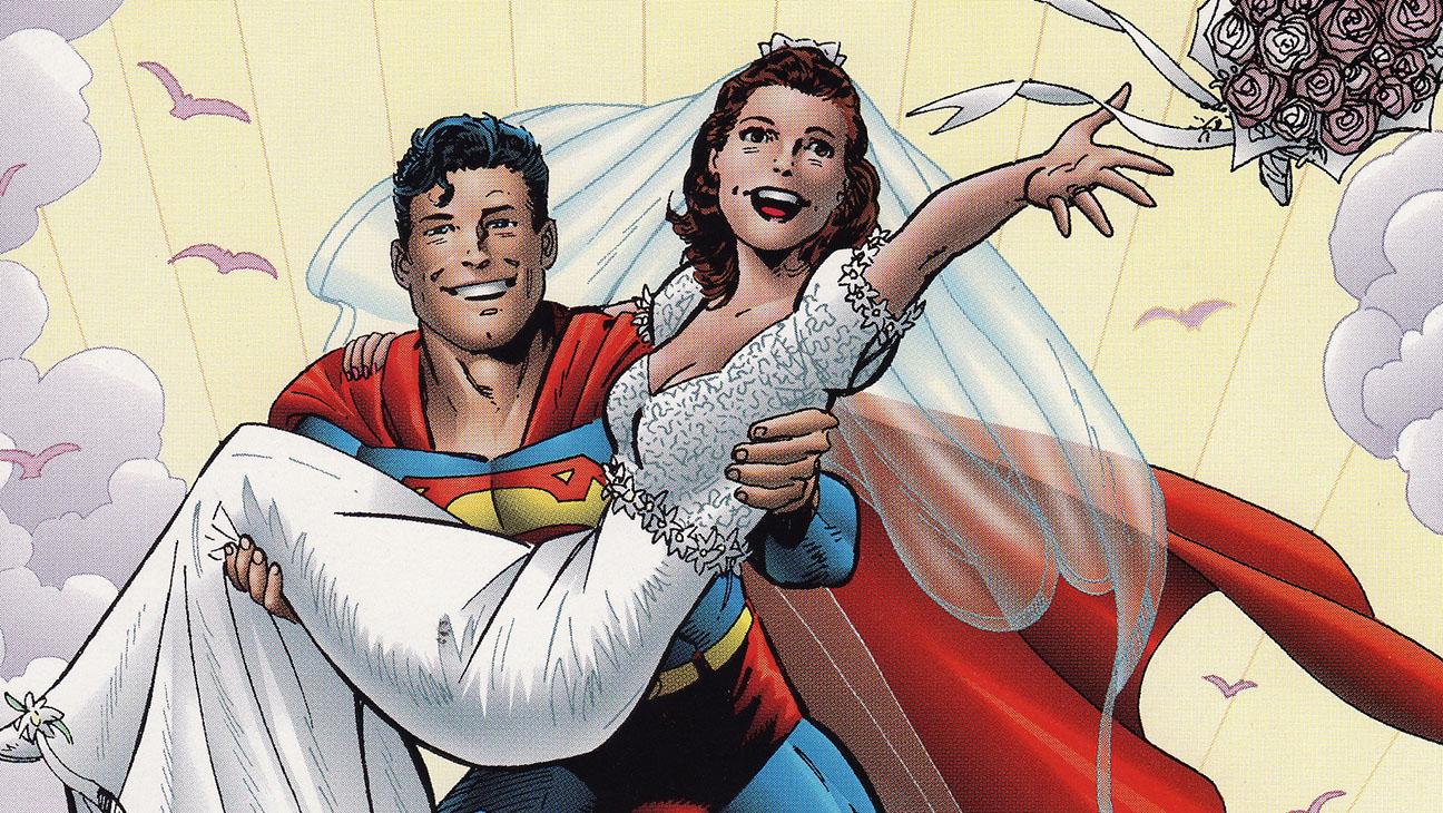 Superman Lois Wedding - H 2015