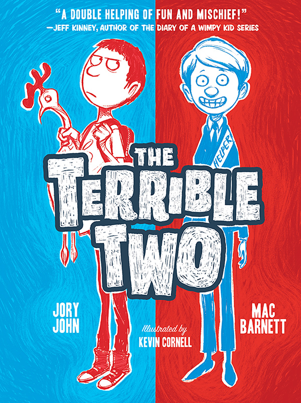 The Terrible Two Book Cover - P 2015