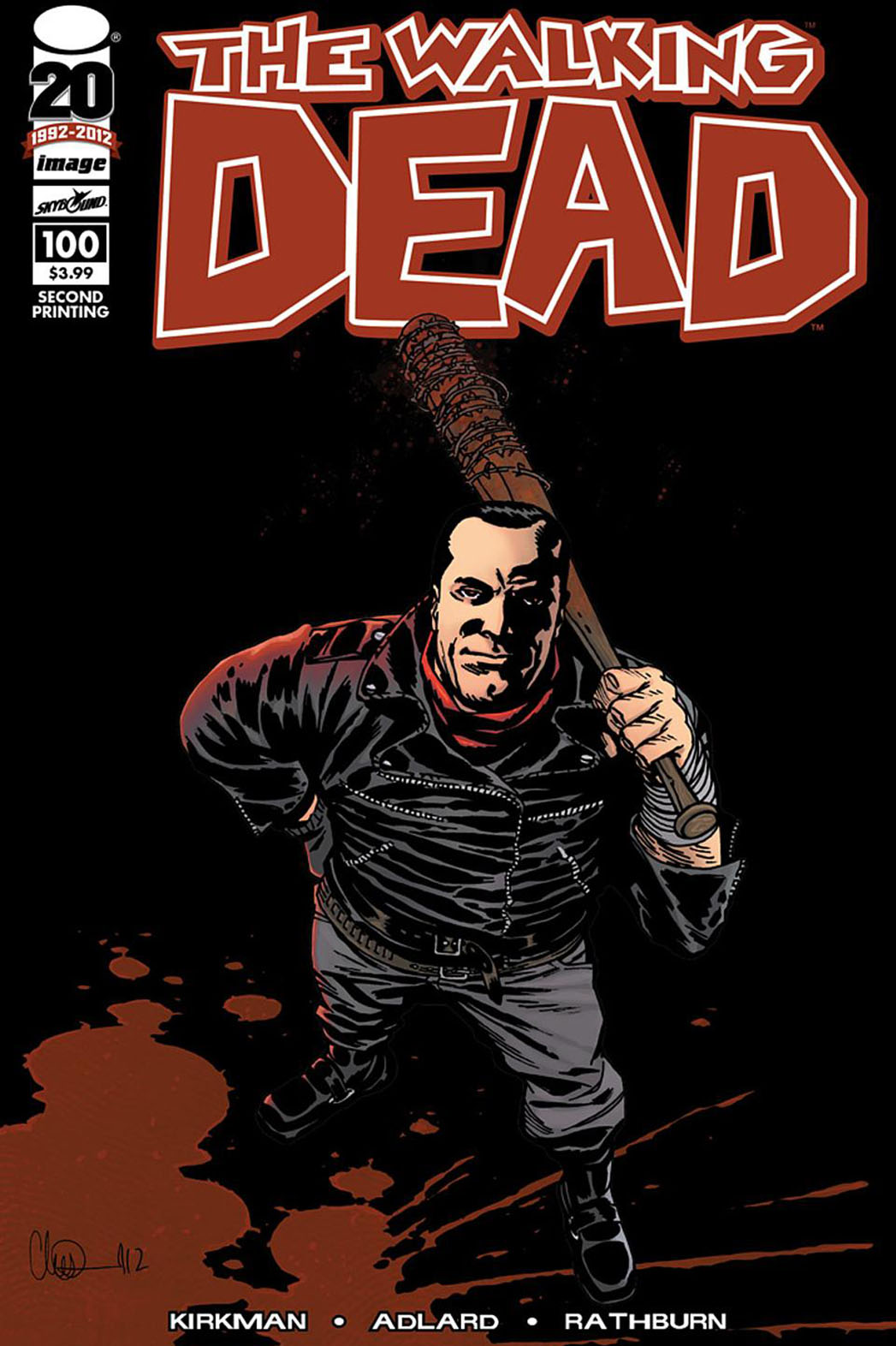 The Walking Dead Neegan Cover - P 2015