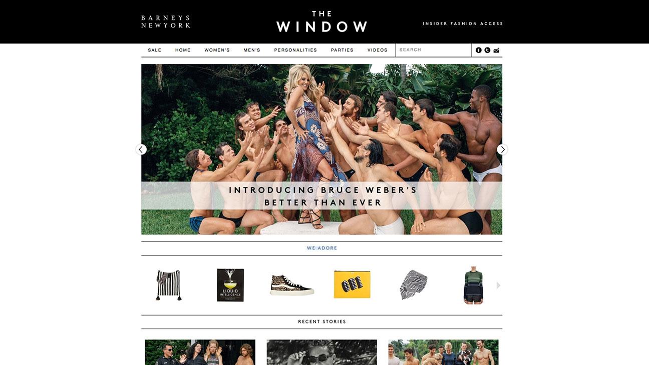 The Window Barneys NY Site - H 2015