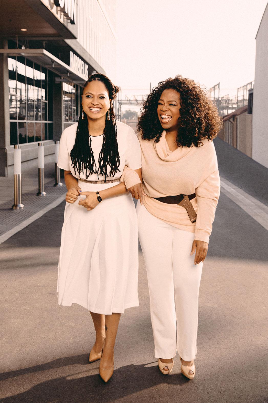 THR Mentor Oprah Winfrey Ava DuVernay - P 2015