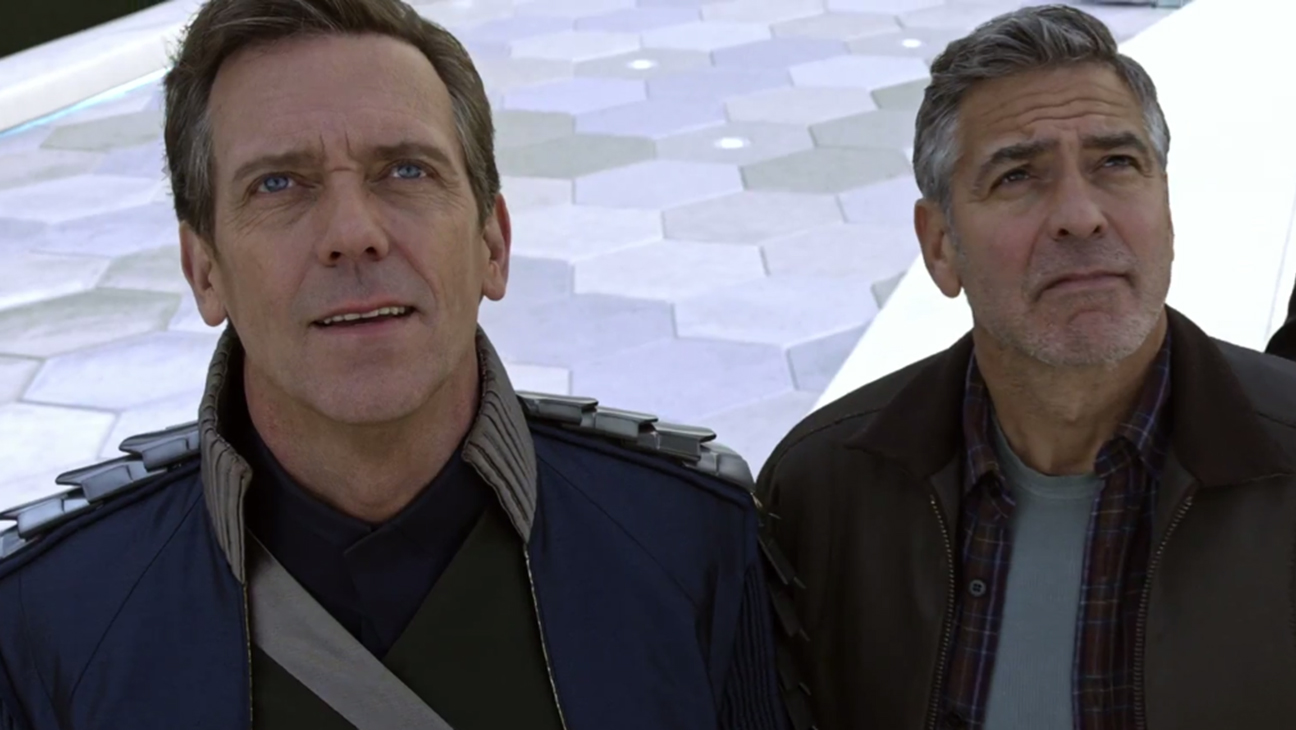 Tomorrowland Hugh Laurie George Clooney H 2015