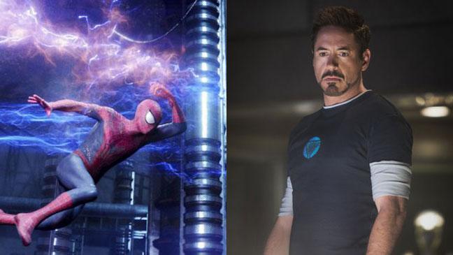 Spider-Man Iron Man Split - H 2015