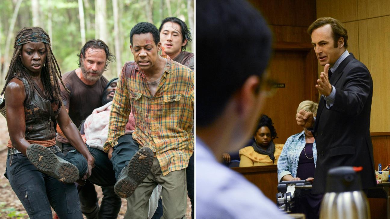 Walking Dead Better Call Saul - H 2015