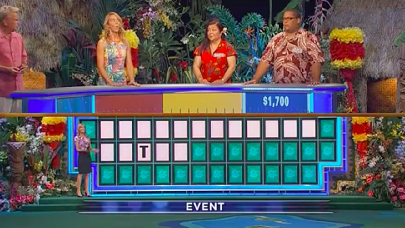 Wheel of Fortune One Letter Win 2015-- H