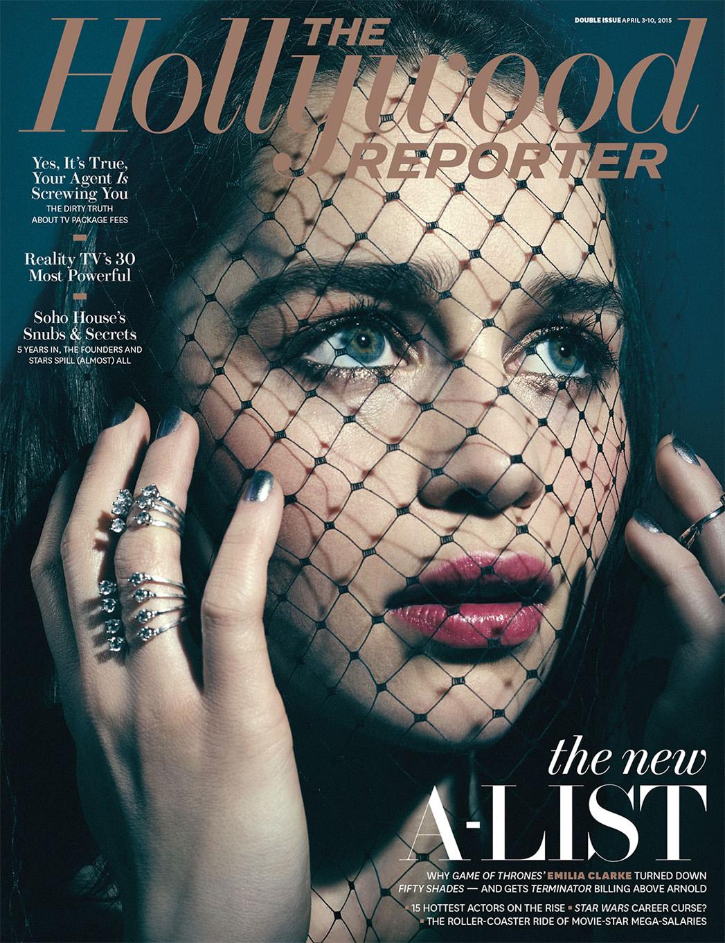 Issue 11 Cover Emilia Clarke A-List - P 2015